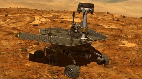 The Opportunity Mars Rover